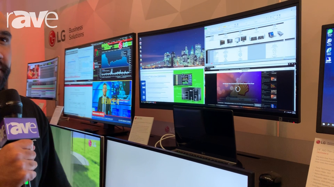 NYDSW 2018: LG Discusses Virtual Desktop Infrastructure in Thin Client Monitors