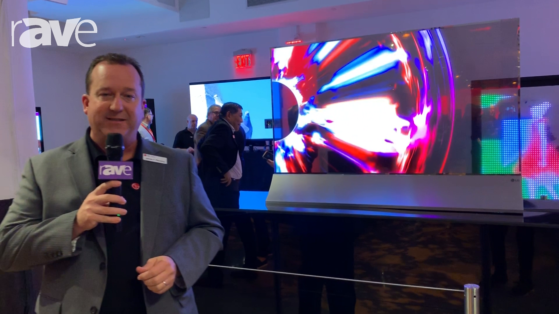 NYDSW 2018: LG Highlights Transparent OLED Display