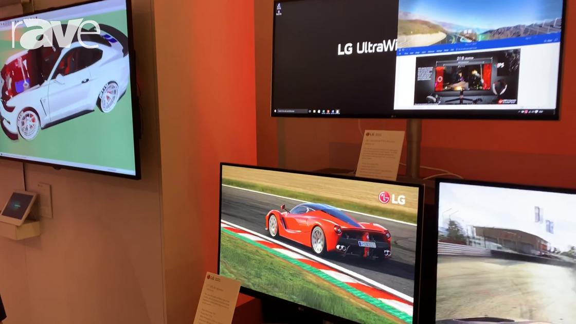 NYDSW 2018: LG Presents IPS 4K Desktop Monitors