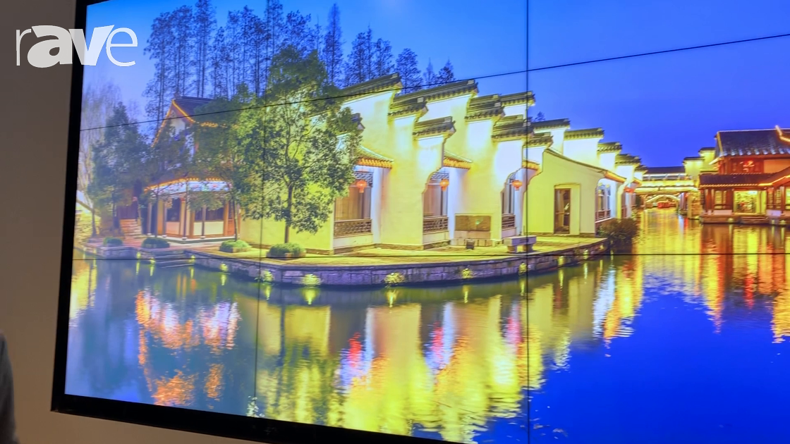 NYDSW 2018: Barco Highlights UniSee LCD Video Wall in 3×3 Installation