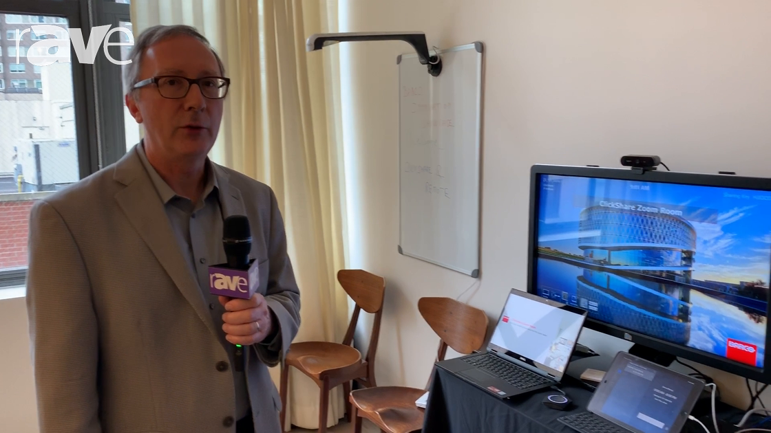 NYDSW 2018: Barco Overviews ClickShare Integration with Zoom Rooms and Kaptivo for Meeting Spaces