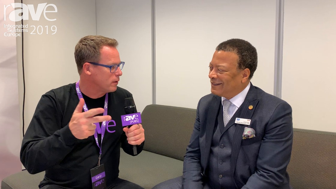 ISE 2019: Gary Kayye Speaks to ISE Managing Director Mike Blackman on Opening Day of ISE 2019