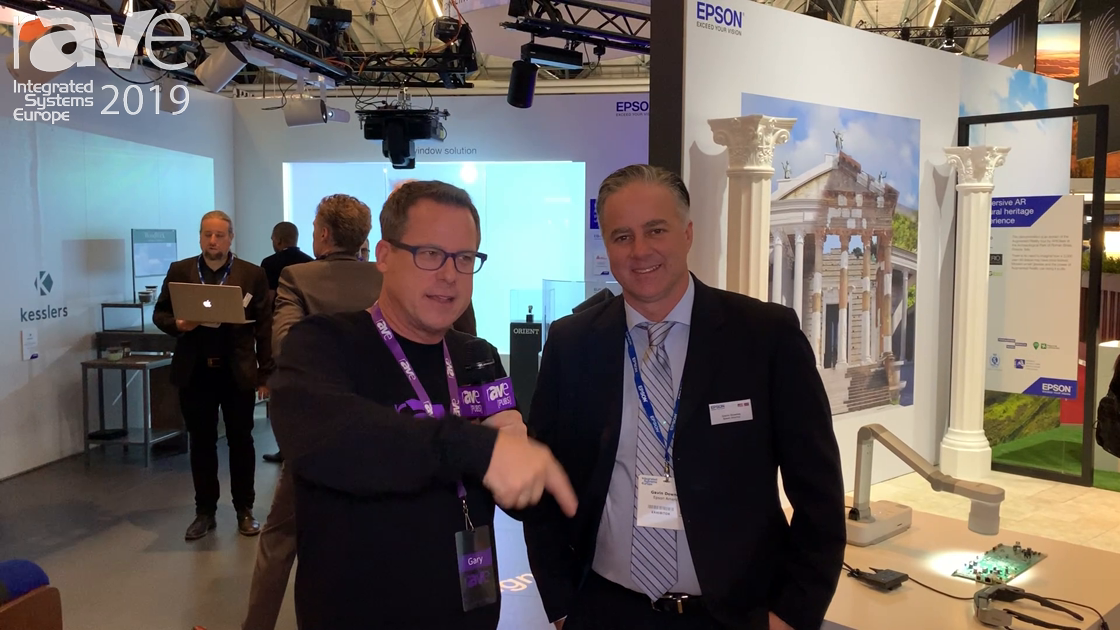ISE 2019: Gary Kayye Talks to Gavin Downey of Epson