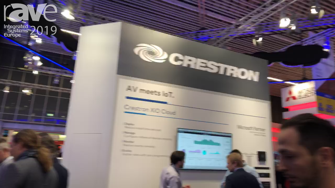 ISE 2019: A Demo of the Crestron Flex (Recorded Live on the Show Floor in Amsterdam)