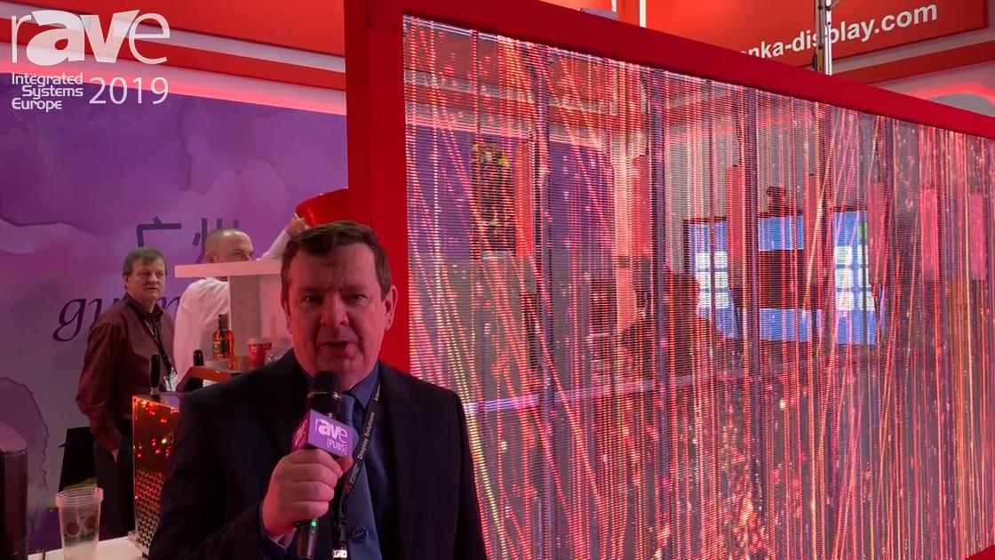 ISE 2019: KONKA Demos Unique 70-Percent Transparent LED Screen With Interactivity