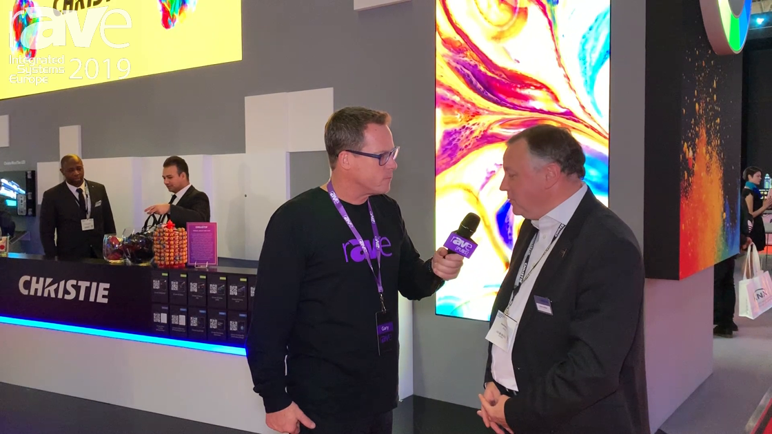 ISE 2019: Gary Kayye Gets a Booth Tour at Christie with David Griffiths