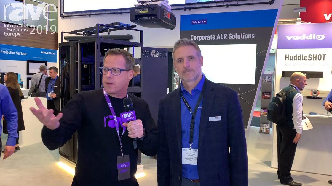 ISE 2019: Gary Kayye Speaks to Steve Durkee of Legrand