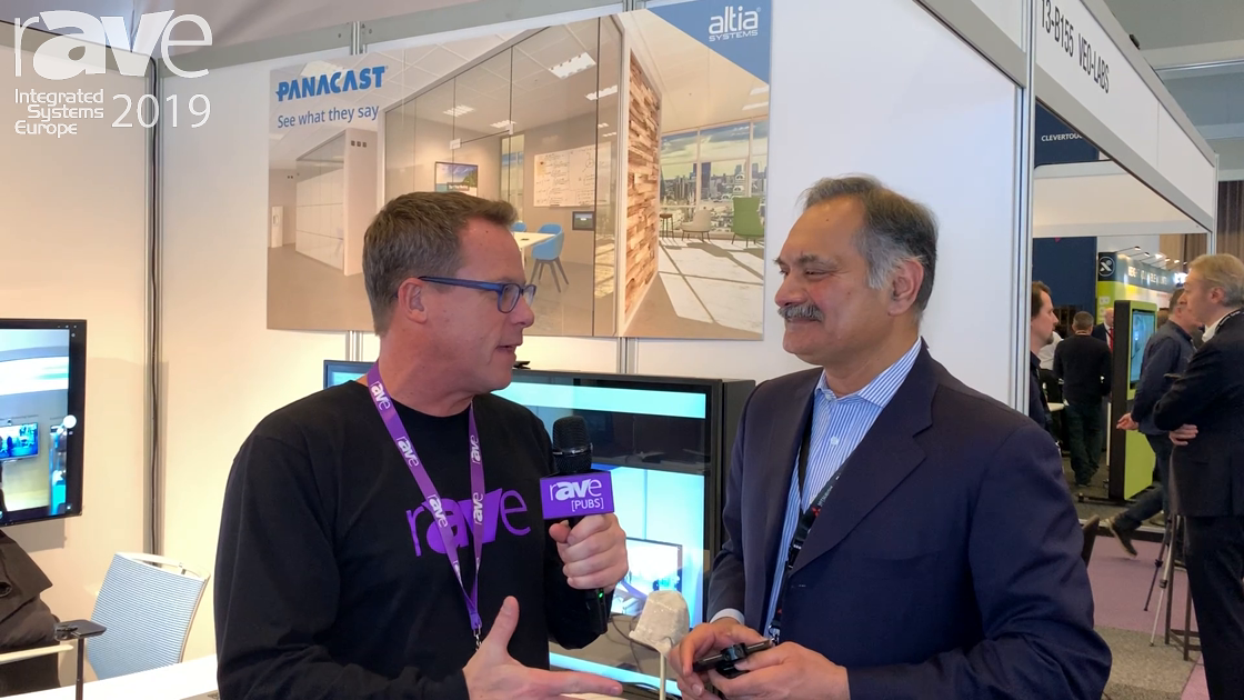 ISE 2019: Gary Kayye Interviews Aurangzeb Khan of Altia Systems, Talks PanaCast 3