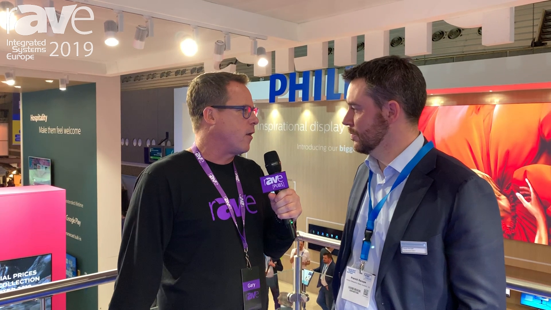 ISE 2019: Gary Kayye Talks to Franck Racapé at Philips