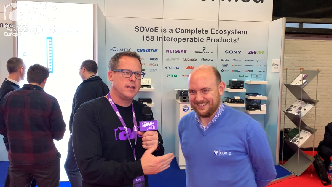 ISE 2019: Gary Kayye Interviews Justin Kennington, President of the SDVoE Alliance