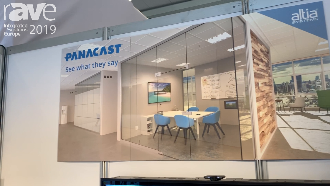 ISE 2019: Altia Systems Features Panacast 3, Third Generation UCC Camera