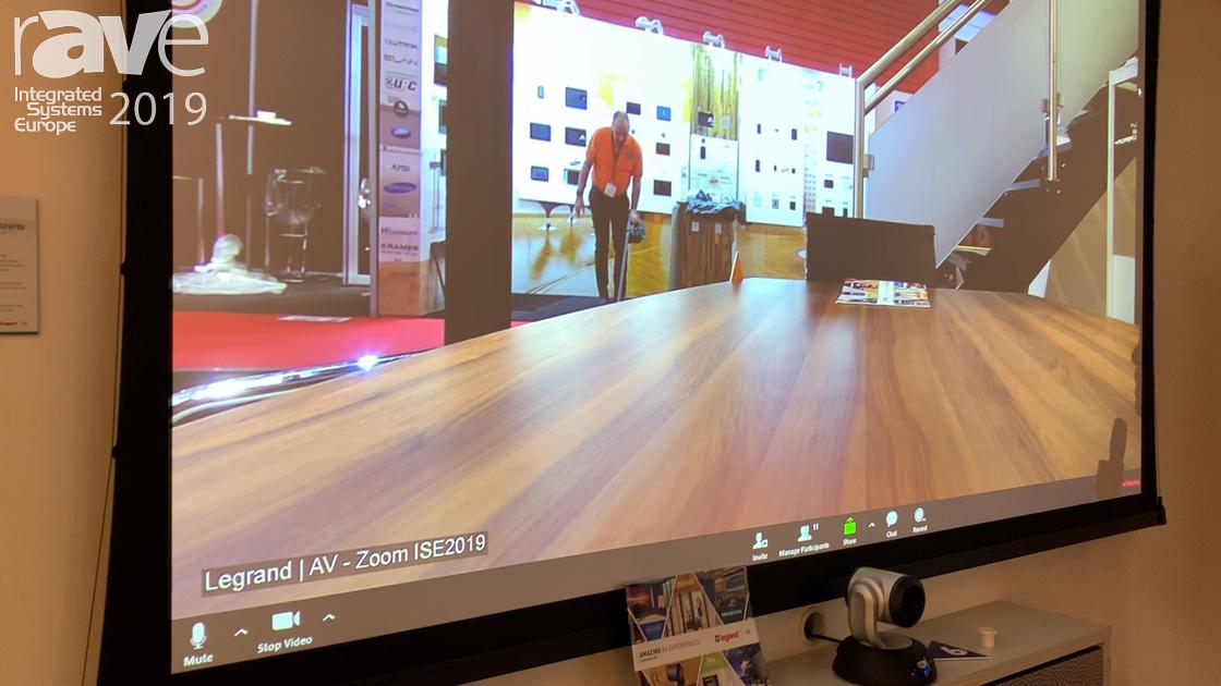 ISE 2019: Da-Lite Showcases the DescenderPro Projection Screen