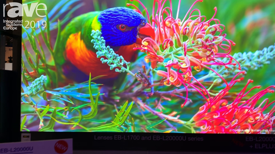 ISE 2019: Epson Exhibits Its EB-L20000U Projector