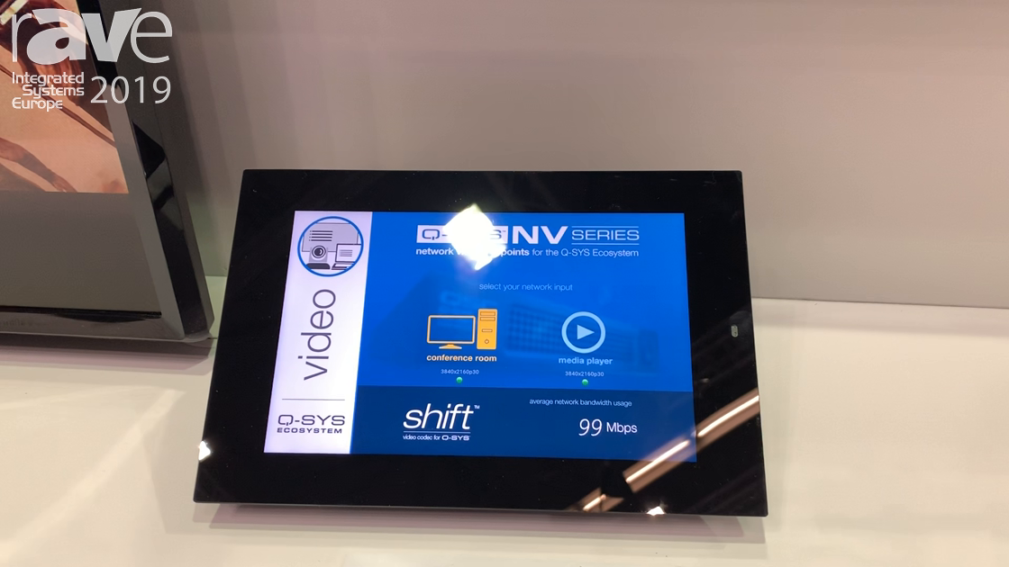ISE 2019: QSC Features Its Network Video Nv Series for Q-SYS