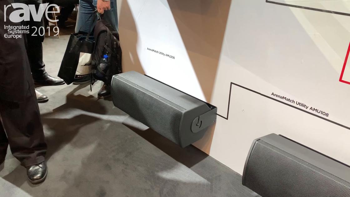 ISE 2019: Bose Professional Exhibits ArenaMatch Utility Loudspeaker System