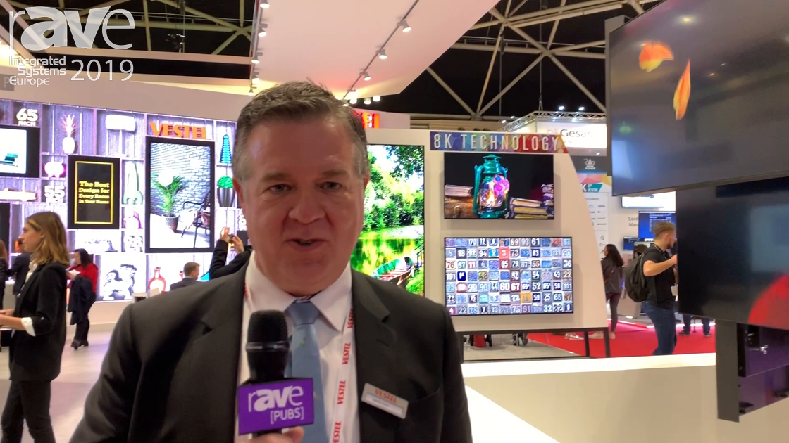 ISE 2019: Vestel Features Its Video Wall Range