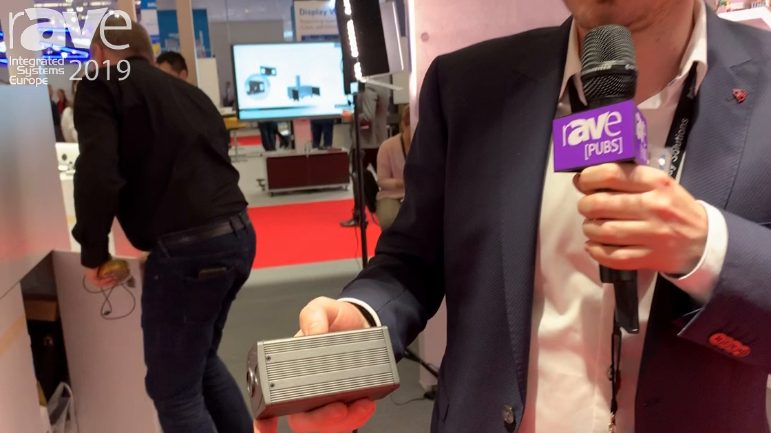 ISE 2019: Lumens Shows Off VC301 Compact Camera With Wide Lens