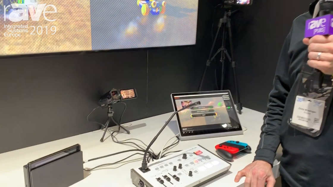 ISE 2019: Roland Introduces VR-1HD AV Streaming Mixer
