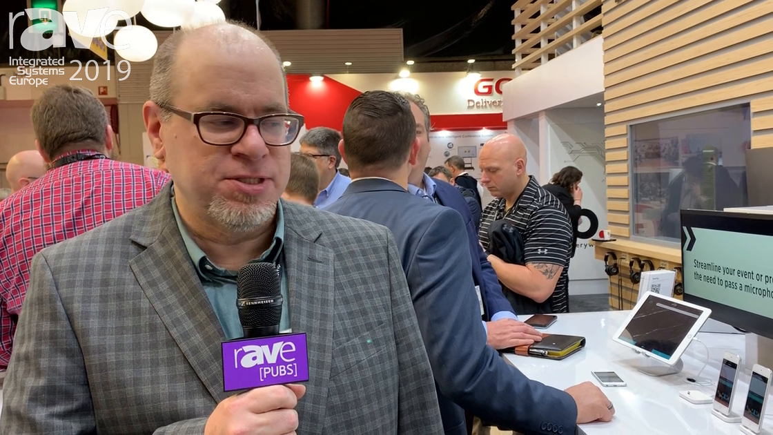 ISE 2019: Biamp Discusses Crowd Mics For Audience Engagement