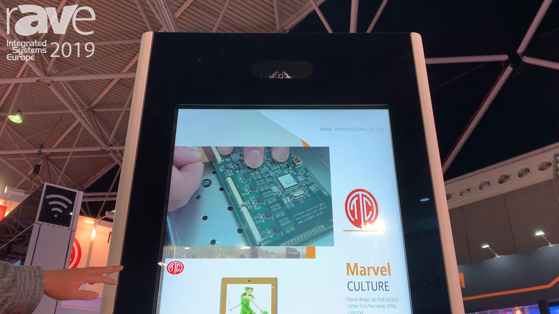 ISE 2019: Marvel Technology Talks About MWE957 Outdoor Digital Signage Display