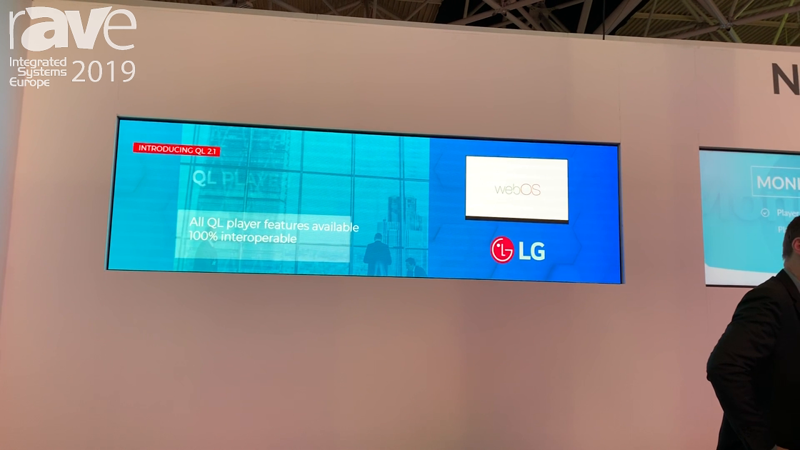 ISE 2019: Navori Discusses QL IPR Digital Signage Content Management System