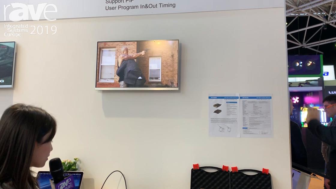 ISE 2019: Shenzhen JSTRON Highlights LVP2300 4K60 Video Wall Processor