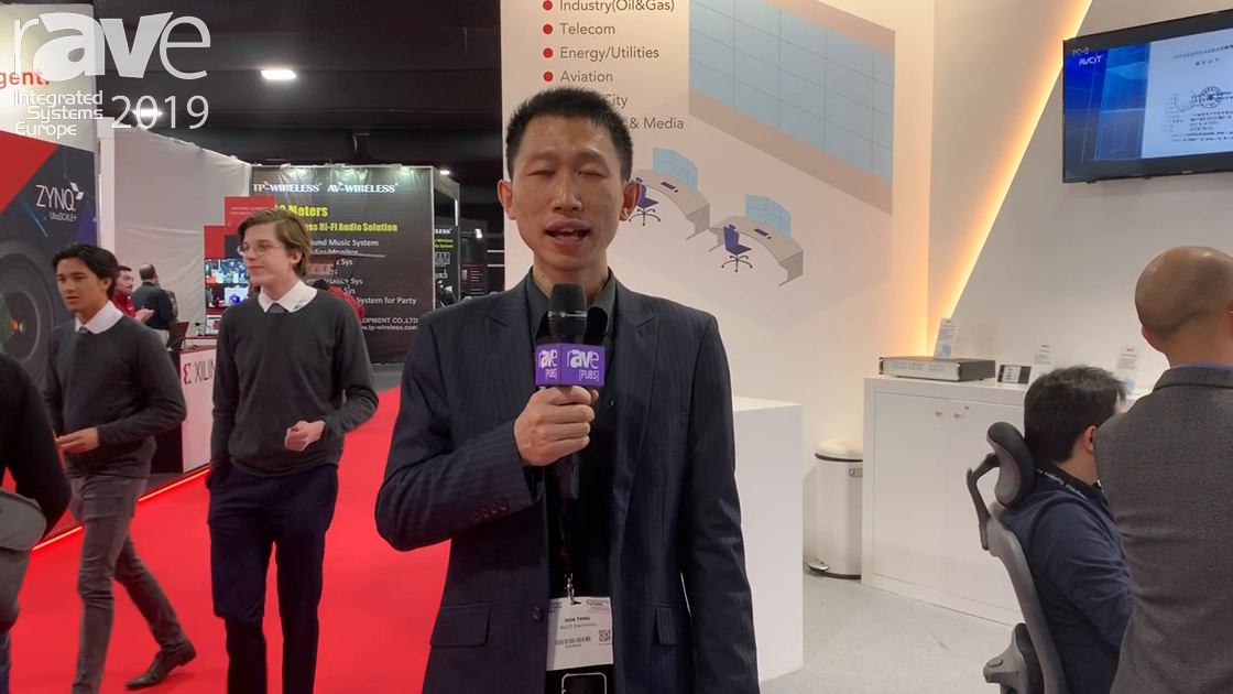ISE 2019: AVCIT Electronics Presents All-In-One Command & Control Center System