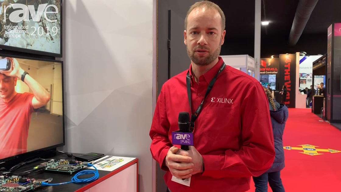 ISE 2019: Xilinx Exhibits H.265 Streaming with Zynq Ultrascale+ AV-over-IP Solution