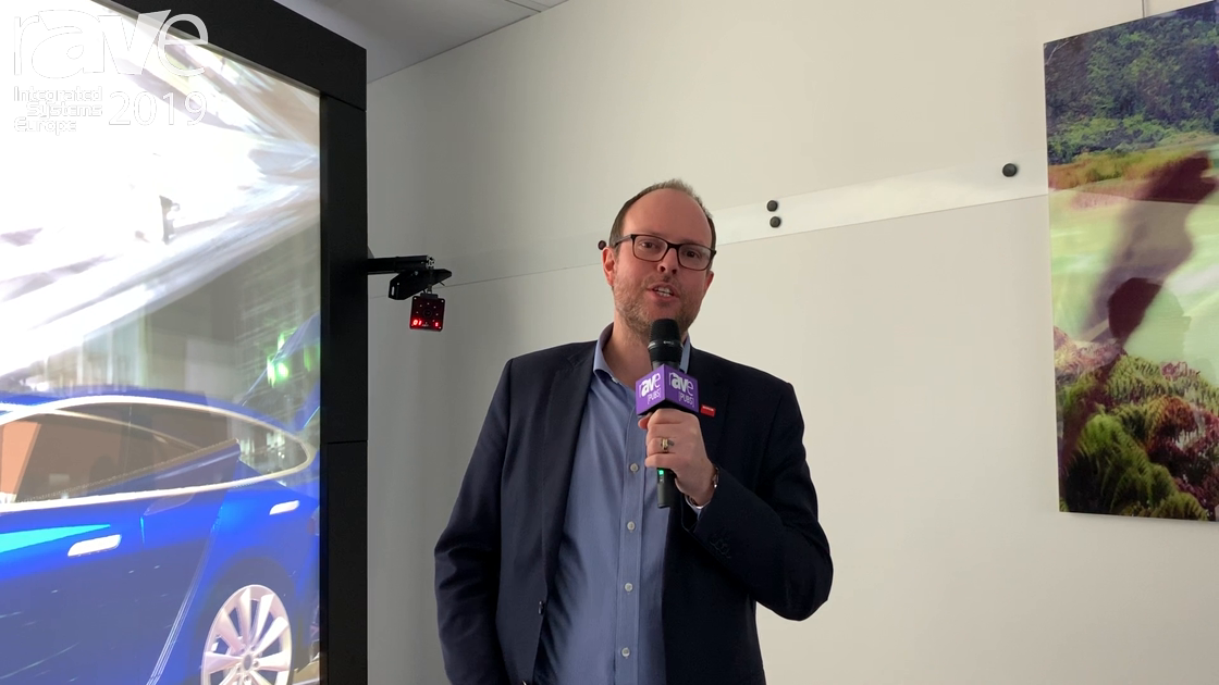 ISE 2019: Barco Features New eyepoint technology for Virtual Reality Applications