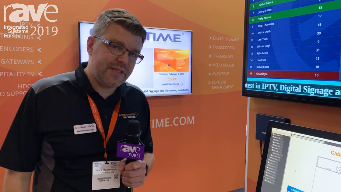 ISE 2019: Cabletime Talks About MediaStar 700-485 Multiscreen Transcoder