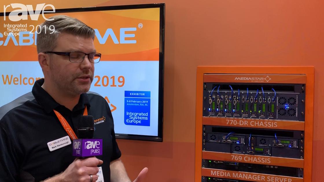ISE 2019: Cabletime Talks MediaStar 798-HDCP Encoder