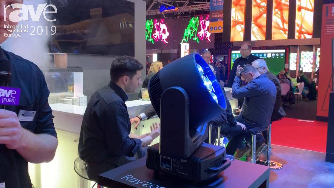 ISE 2019: Elation Professional Shows Off Rayzor 760 LED Moving Head