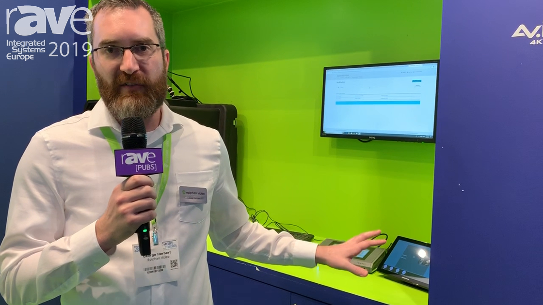 ISE 2019: Epiphan Video Talks New Updates & Integrations to Pearl Products