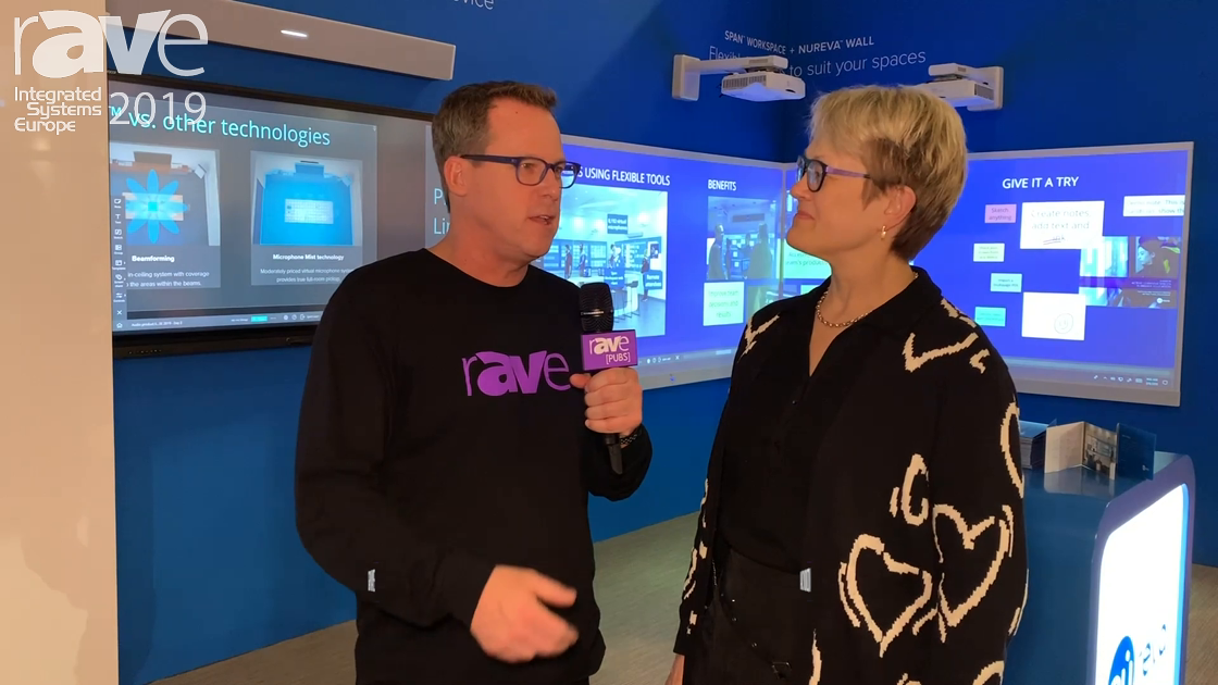 ISE 2019: Gary Kayye Interviews Nancy Knowlton, President and CEO of Nureva