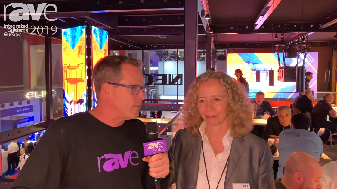 ISE 2019: Gary Kayye Talks to Stefanie Corinth, Sr VP Marketing & Business Development, NEC Display