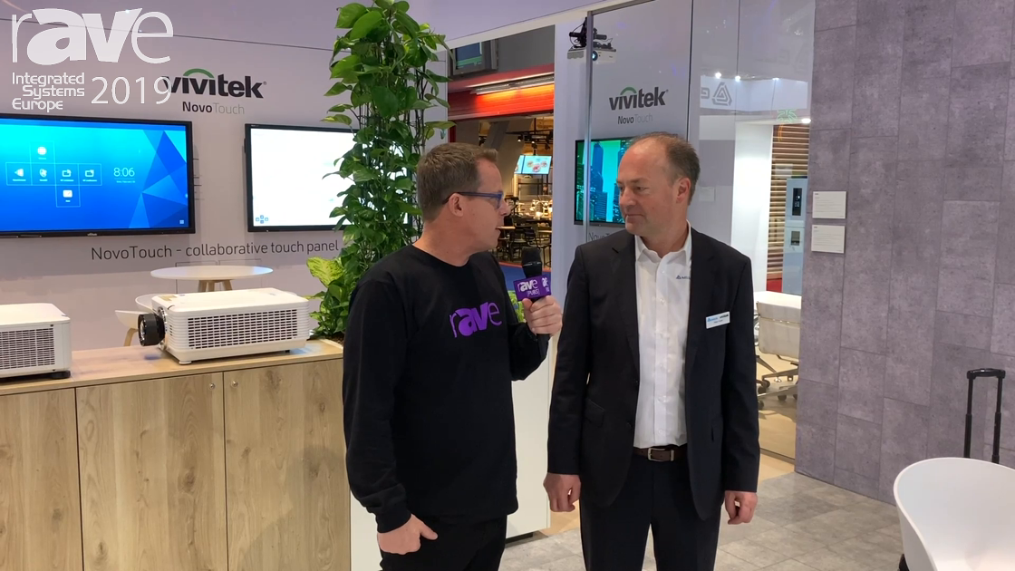 ISE 2019: Gary Kayye Speaks with Holger Gräff of Vivitek