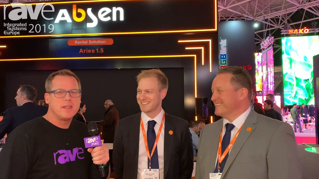 ISE 2019: Gary Kayye Talks to Alex Couzins and Christian Czimny of Absen
