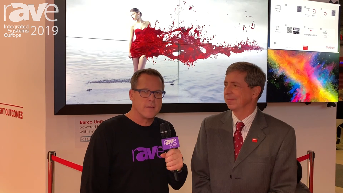 ISE 2019: Gary Kayye Talks to George Stromeyer, SVP at Barco