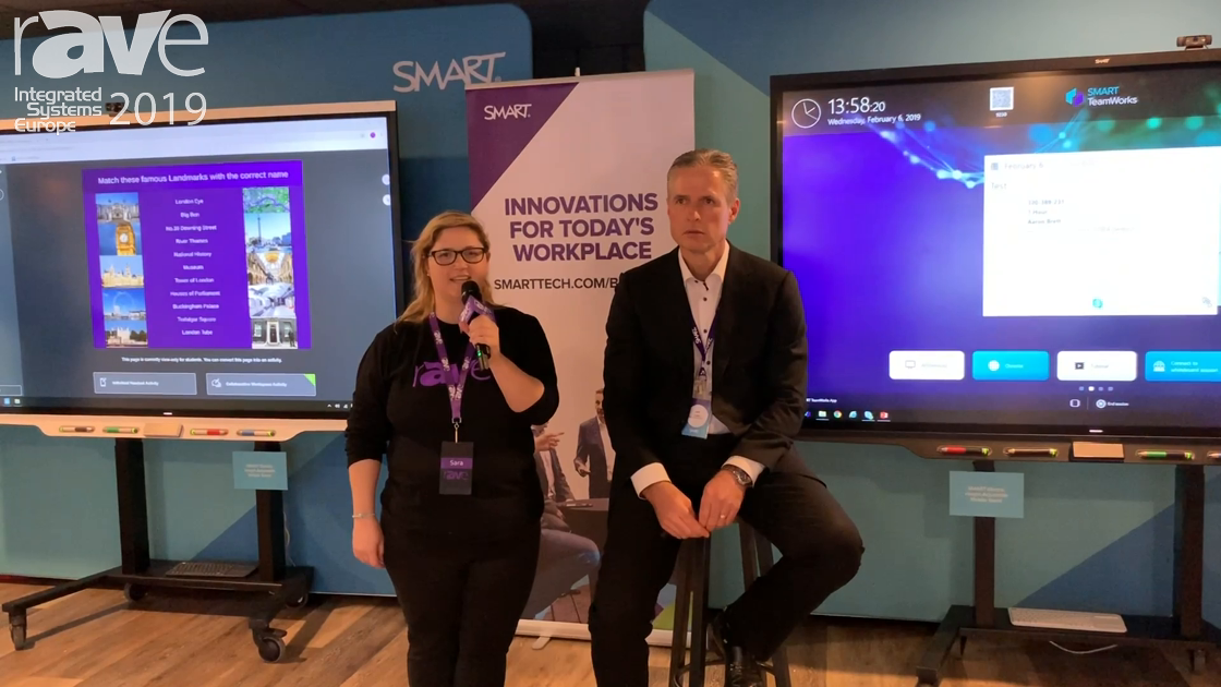 ISE 2019: Sara Abrons Interviews Jeff Lowe, Chief Marketing Officer of SMART Technologies