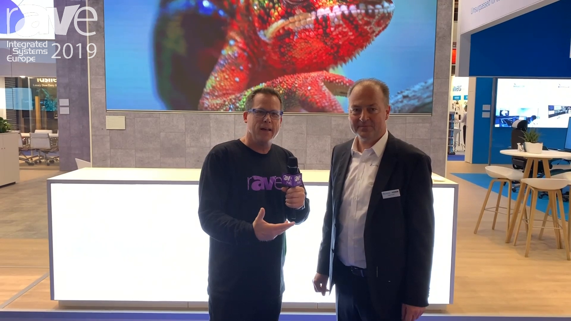 ISE 2019: Gary Kayye Gets a Tour of the Vivitek Stand from Holger Gräff