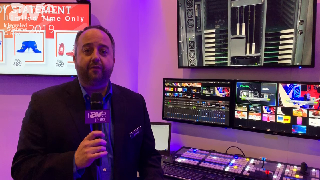 ISE 2019: NewTek Discusses NDI Integration with MediaSite
