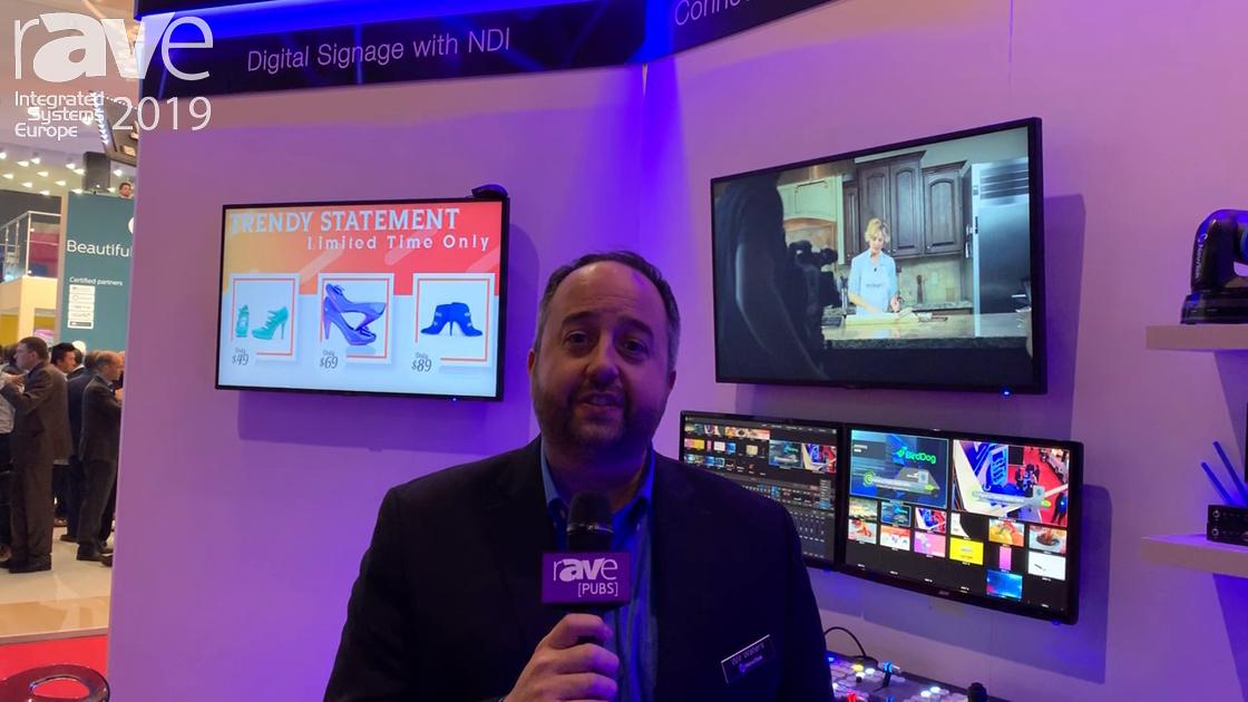 ISE 2019: NewTek Talks Digital Signage with NDI Integration