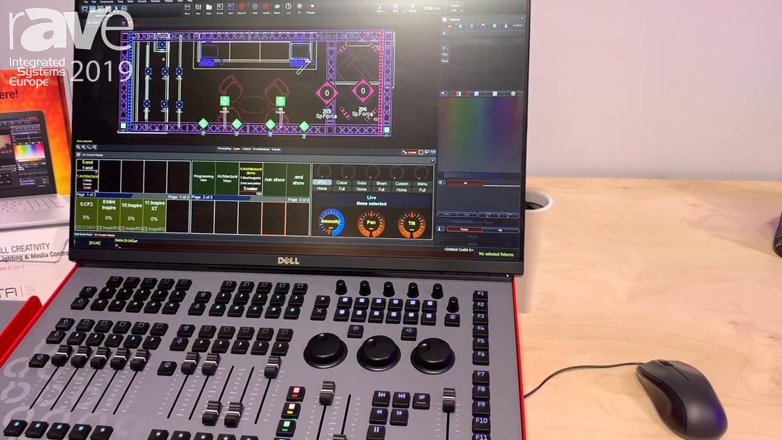ISE 2019: A.C. Entertainment Technologies Demos VISTA Lighting & Media Control Platform