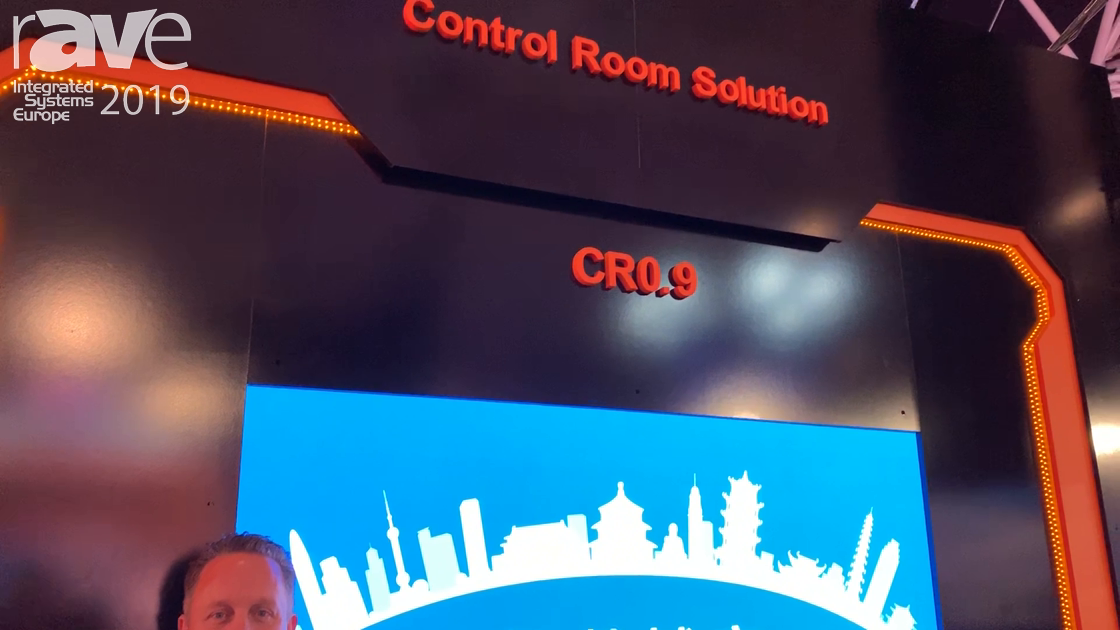ISE 2019: Absen Intros the CR0.9 Control Room Display Solution
