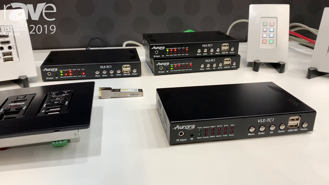 ISE 2019: Aurora Upgrades the VLX Series With SFP Module