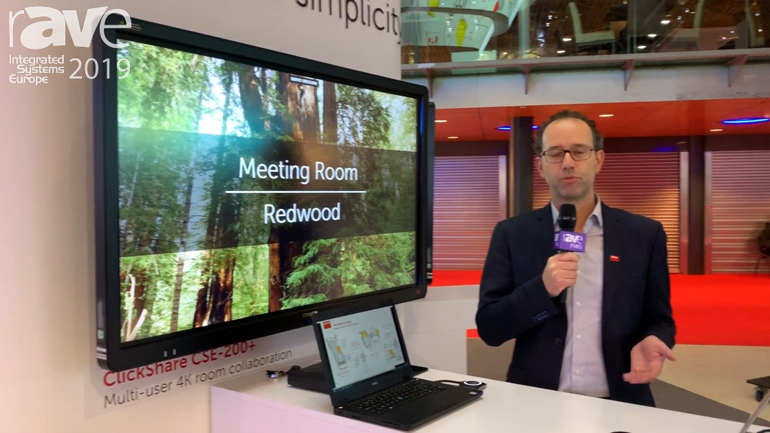 ISE 2019: Barco Revamps Clickshare Experience With App & Button Synergy