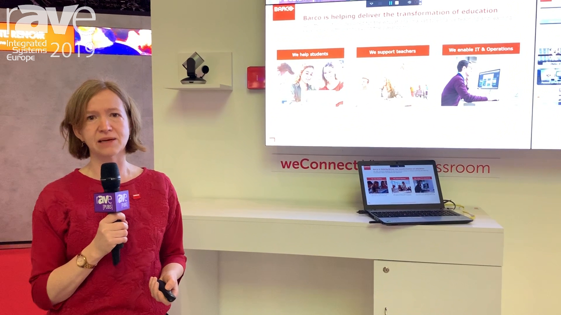 ISE 2019: Barco Talks About the Digital Tranformation of Education