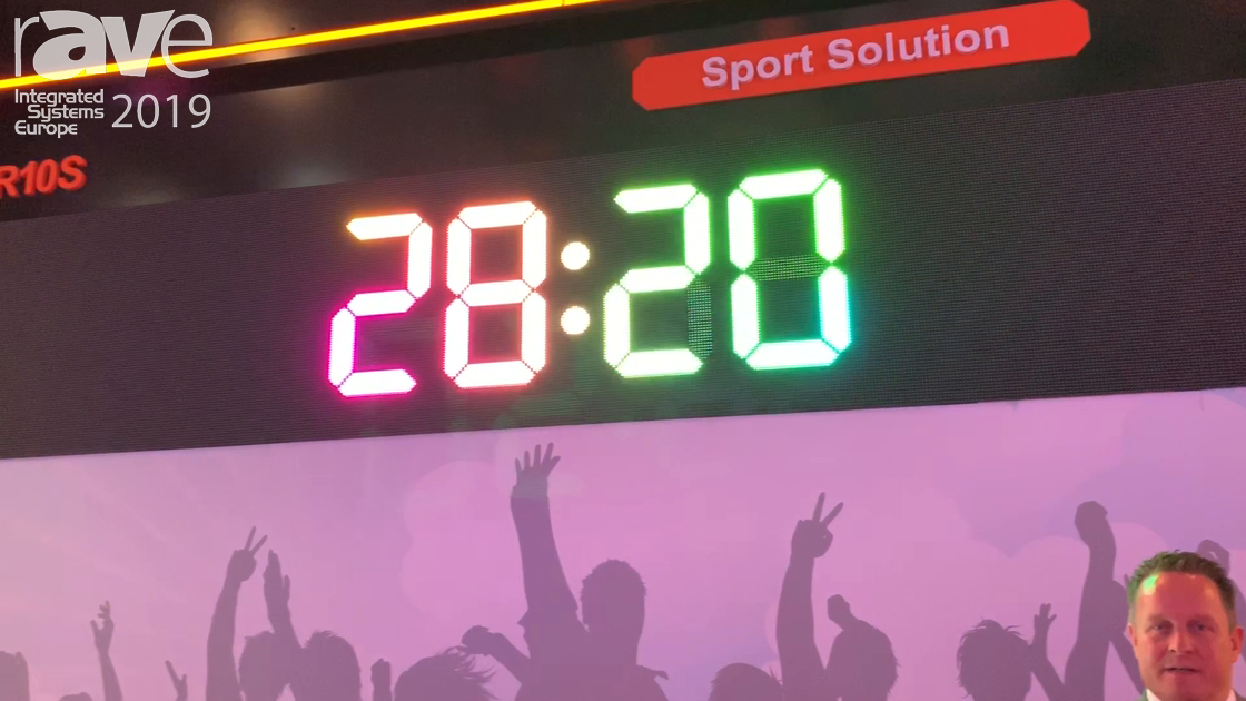 ISE 2019: Absen Demos Its Sports Solution Displays