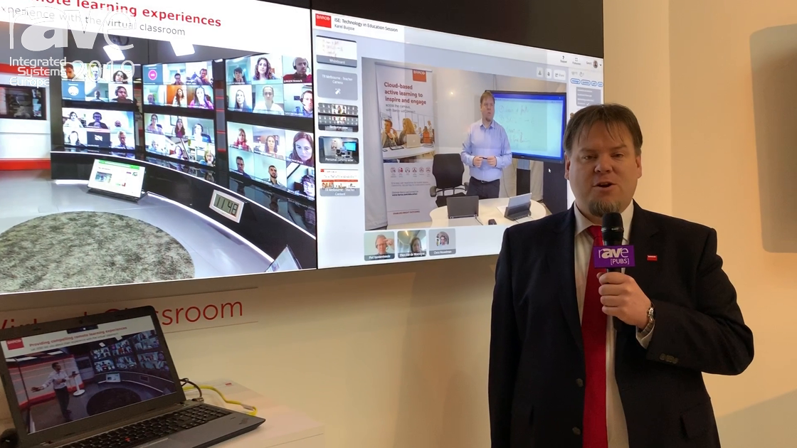 ISE 2019: Barco Demos the WeConnect Virtual Classroom