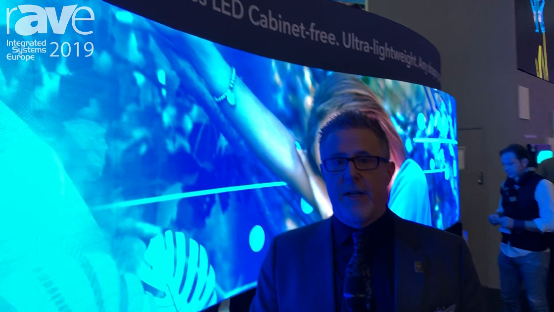 ISE 2019: Christie Unveils Its All-New MicroTiles LED Display